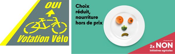 pro-velo.ch | Alliance - 2 x NON aux initiatives agricoles